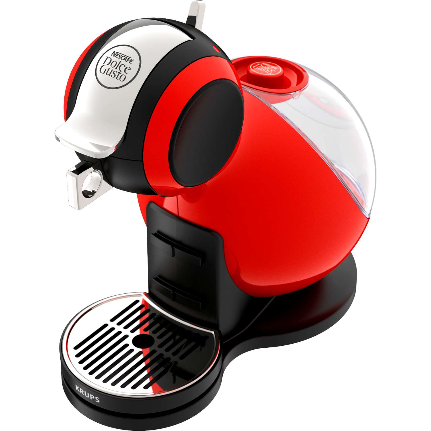 krups nescafe dolce gusto melody 3 coffee machine 15 bar 1 3l tank red kp2205. Black Bedroom Furniture Sets. Home Design Ideas