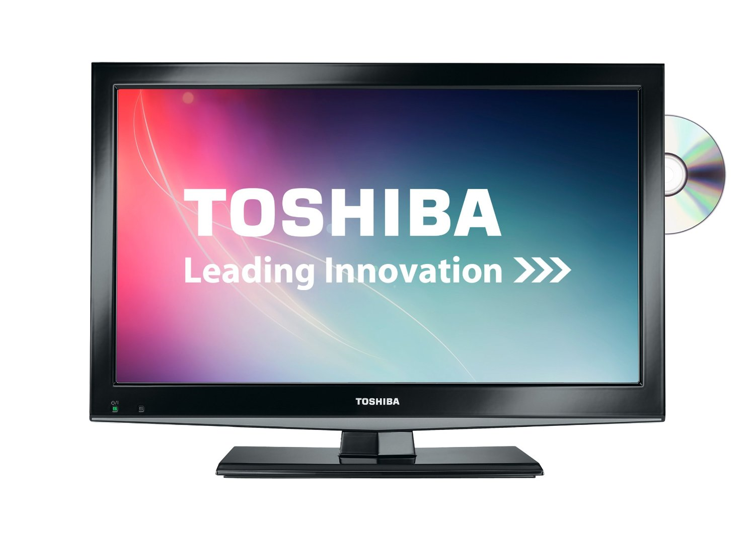 toshiba 19dl502 19 inch hd ready led dvd tv combi built in freeview usb black ebay. Black Bedroom Furniture Sets. Home Design Ideas