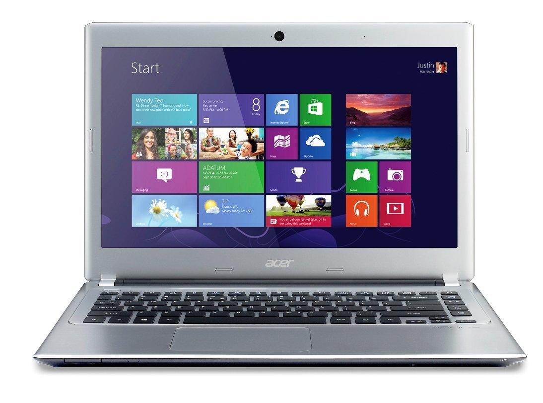 acer aspire v5 431 14 inch laptop windows 8 os 4gb ram 500. Black Bedroom Furniture Sets. Home Design Ideas