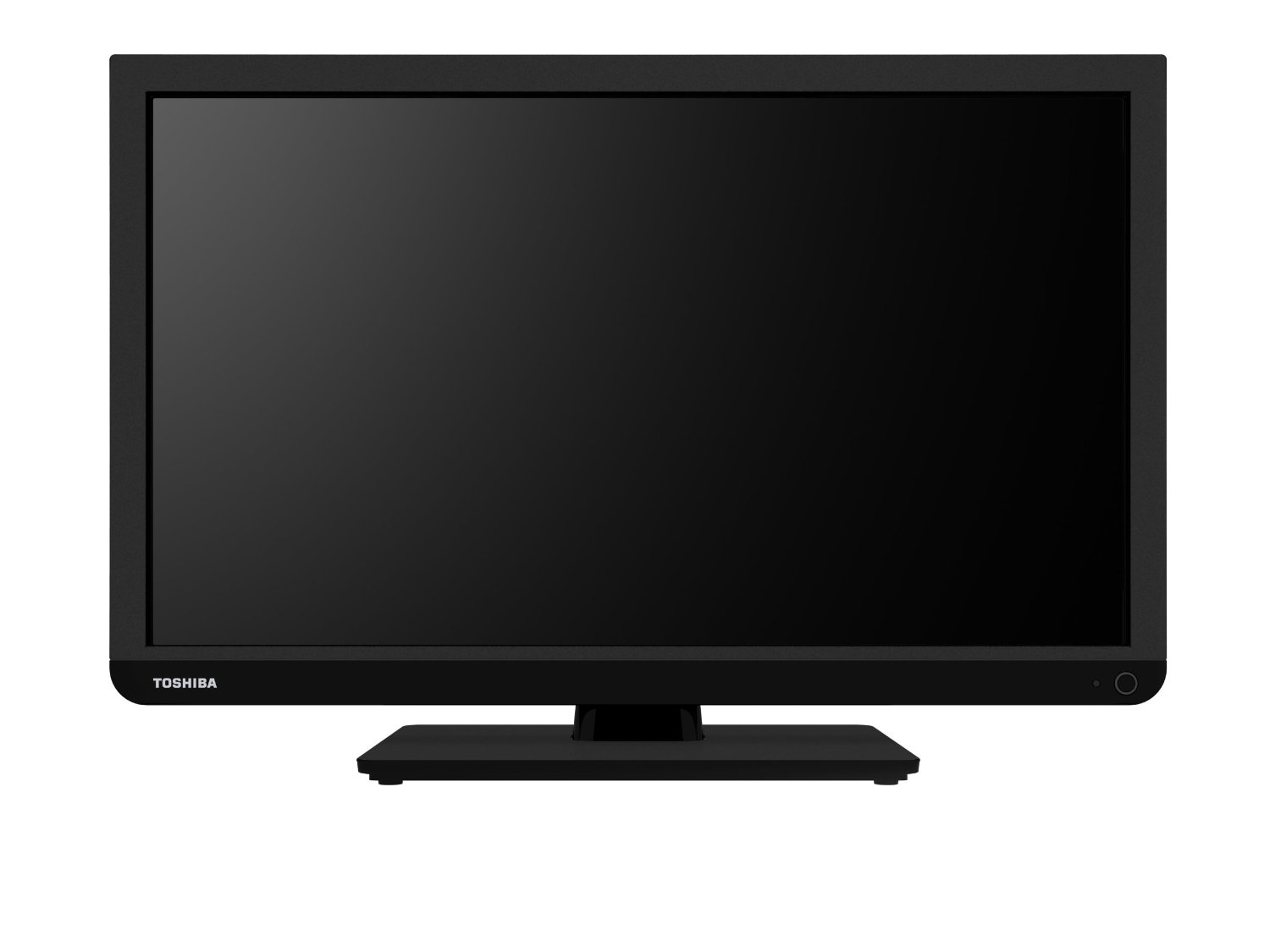 Toshiba 24W1333B 24-inch 720p HD ready Widescreen LED TV ...