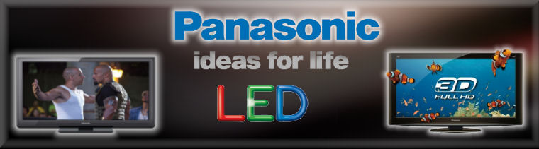 Panasonic LED TV's