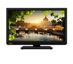 "View Item Toshiba 24"" LED TV with Built-in DVD Player & Freeview, 24D1433DB, USB Media Player"