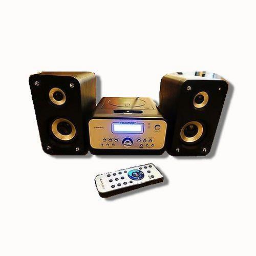 blaupunkt ne 205 dab digital radio micro hi fi with ipod dock. Black Bedroom Furniture Sets. Home Design Ideas