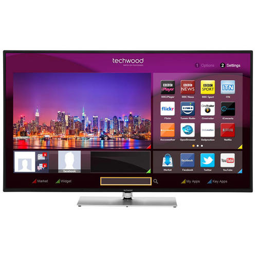 Techwood 50ao1sb 50 inch smart full hd led tv built in for Perfect kitchen pro smart scale and app system