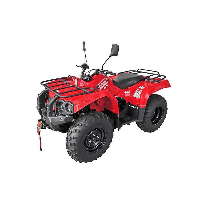 coleman quad bike 400 atv 4x4 off road model 393cc 4 stroke sohc engine 2wd 4wd ebay. Black Bedroom Furniture Sets. Home Design Ideas