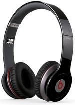 View Item Beats by Dr Dre Solo HD Black Headphones with Built in Mic and Tri Fold Design
