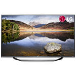 View Item LG 49UF675V 49 Inch 4K Ultra HD LED TV Freeview HD USB Recording Titan Silver