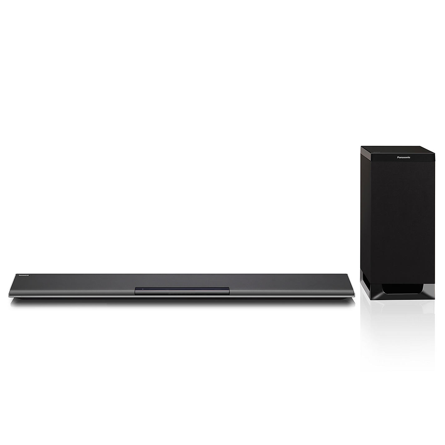 panasonic sc htb485ebk 2 1 channel 250w soundbar bluetooth. Black Bedroom Furniture Sets. Home Design Ideas