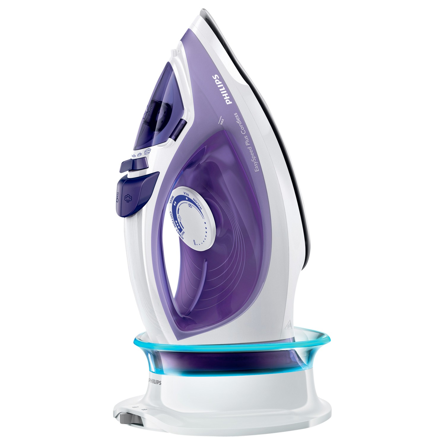 Cordless Steam Iron ~ Philips gc easyspeed plus watt cordless steam