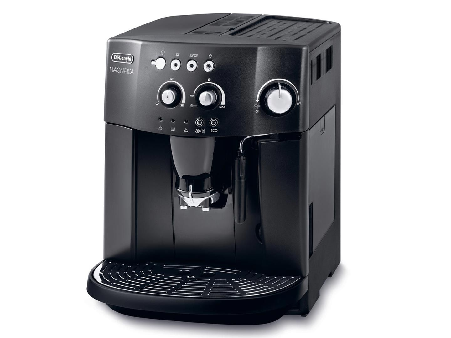 Delonghi Coffee Maker Manual : DeLonghi ESAM4000.B Magnifica Bean To Cup Coffee Maker 15 Bar Integrated Grinder 8004399322639 ...