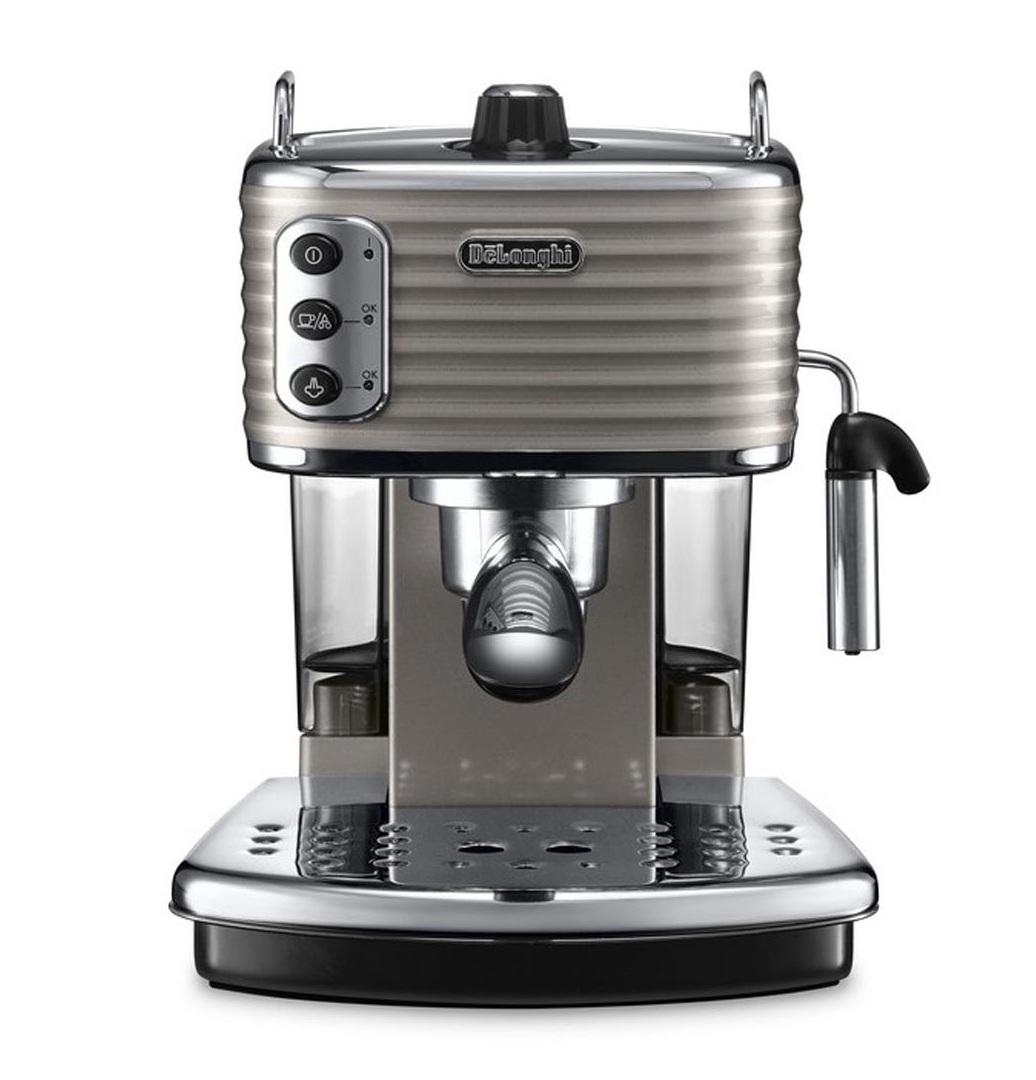 delonghi ecz351 bg scultura coffee machine maker ground pod 15 bar cappuccino. Black Bedroom Furniture Sets. Home Design Ideas