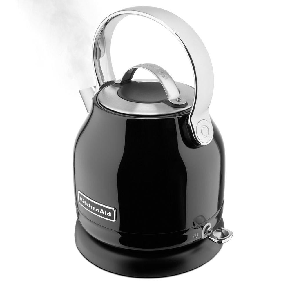 Black Kitchenaid Kettle: KitchenAid 5KEK1222EOB 1.25 Litre 1500W Kettle Black