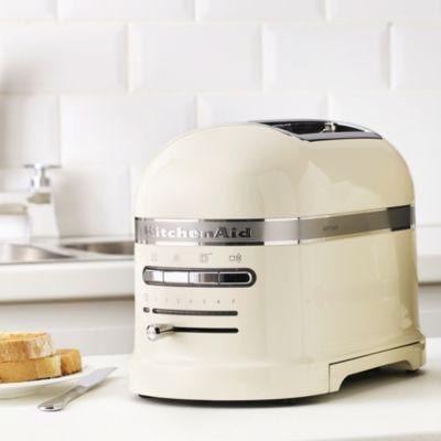 Kitchenaid artisan 5kmt2204 2 slice toaster extra wide slots countdown timer ebay - Artisan toaster slice ...