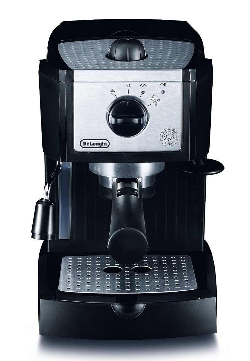 delonghi ec156 b pump espresso coffee machine maker cappuccino 15 bar black ebay. Black Bedroom Furniture Sets. Home Design Ideas