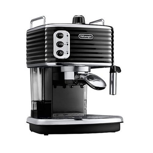 delonghi ecz351 bk coffee machine maker cappuccino espresso 15 bar ese pod black. Black Bedroom Furniture Sets. Home Design Ideas