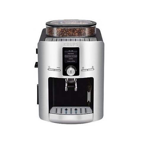 Coffee Maker With Bean Hopper : Krups EA826E Bean to Cup Coffee Machine 1450W 1.8 Litre Water Container