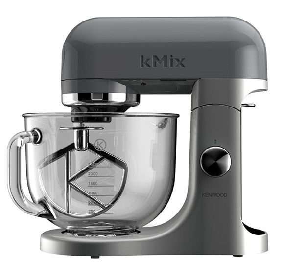 kenwood kmx50ggy kmix stand mixer 5 litre glass bowl 500w. Black Bedroom Furniture Sets. Home Design Ideas
