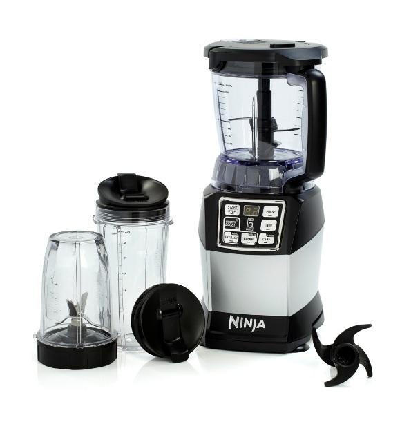 nutri ninja bl490uk compact kitchen system blender built