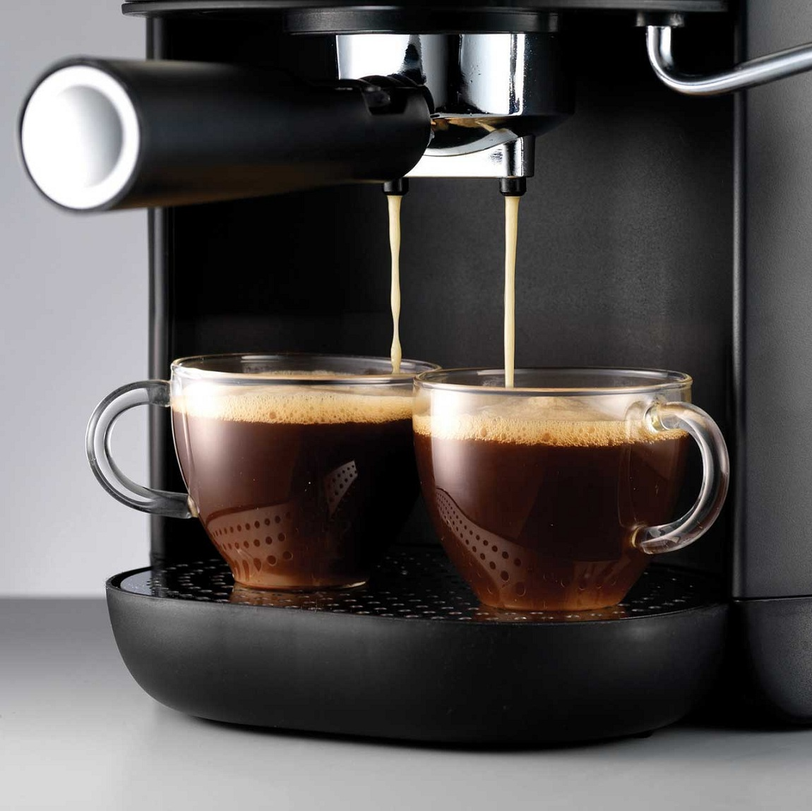 Morphy Richards Coffee Maker With Frother : Morphy Richards 172003 Espresso Coffee Maker Machine Cappuccino Frother Black eBay
