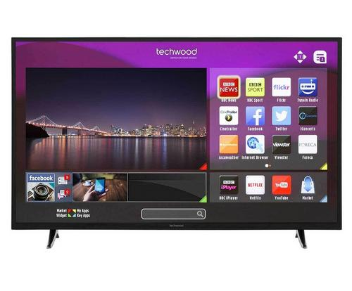 Techwood 55ao3tsb 55 inch smart full hd led tv freeview hd for Perfect kitchen pro smart scale and app system