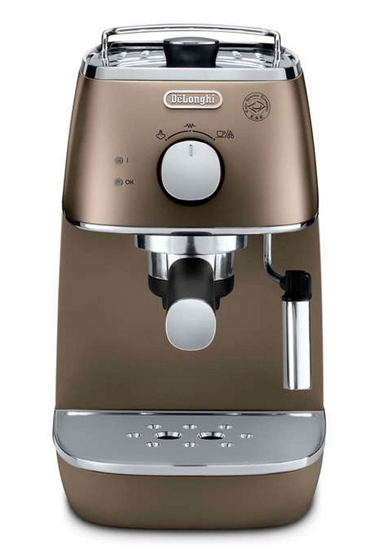 Coffee Maker Built In Filter : DeLonghi Distinta ECI341.BZ Coffee Machine Built In Milk Frother Cup Warmer eBay