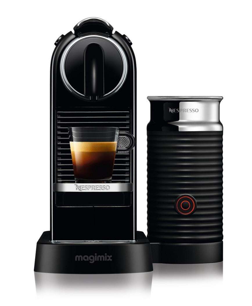 Nespresso Coffee Maker Magimix : Magimix 11317 Citiz & Milk Nespresso Pod Coffee Machine Fitted Aeroccino Black eBay