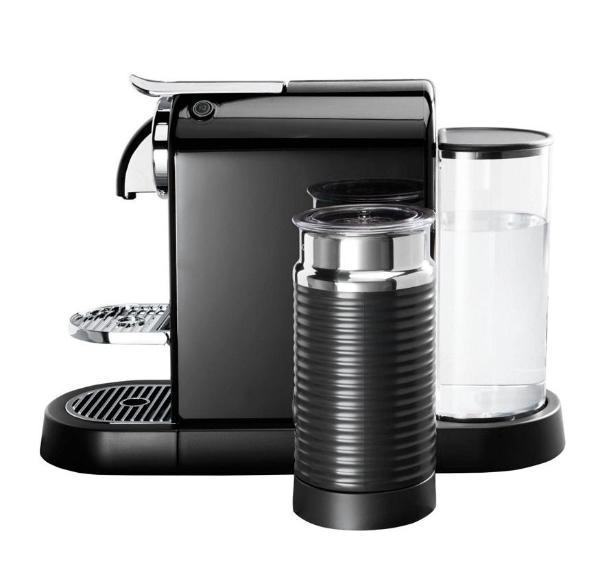 magimix 11317 citiz milk nespresso pod coffee machine fitted aeroccino black ebay. Black Bedroom Furniture Sets. Home Design Ideas
