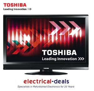 "Toshiba Regza 32AV615DB 32"" LCD TV HD Ready 720p Built-in Freeview HDMI PC Input Preview"