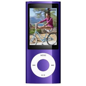 Apple Ipod MC034 5th Gen Nano Purple 8Gb with Camera Preview
