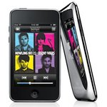 View Item Apple MC086BT iPod Touch 3rd Generation. 8GB. Black & Chrome.