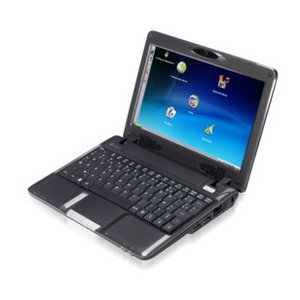 "Hercules Ecafe 8.9"" LED Intel Atom Netbook Windows XP Preview"