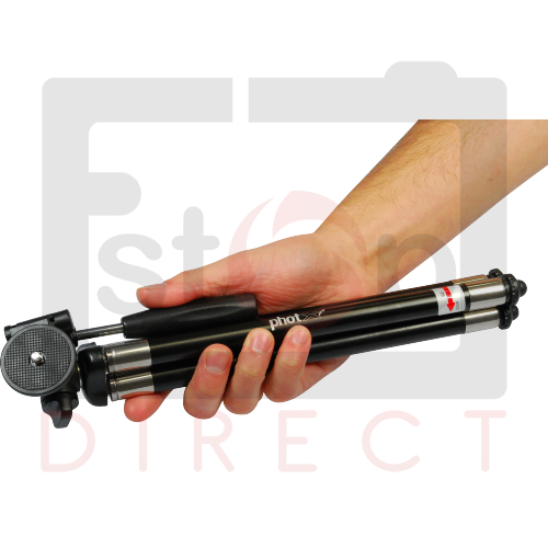 NEW Mini EXTENDING Small Travel Tripod Stand for Camera - NEW - Latest Version 2 Enlarged Preview