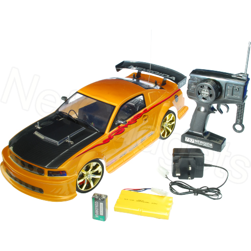 Ford Mustang GT-R 4WD Remote Control RC Drift Car 1:10 Enlarged Preview