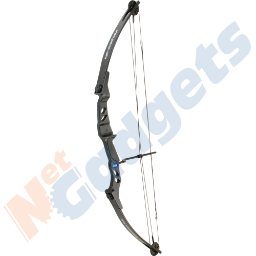 NEW Adult Compound Archery Bow Kit 45lb-55lb for Beginner with Aluminium Arrows Enlarged Preview