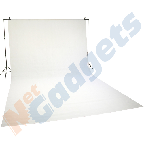 Photographic Studio Backdrop White 3m x 5m non woven untearable photo fabric Enlarged Preview