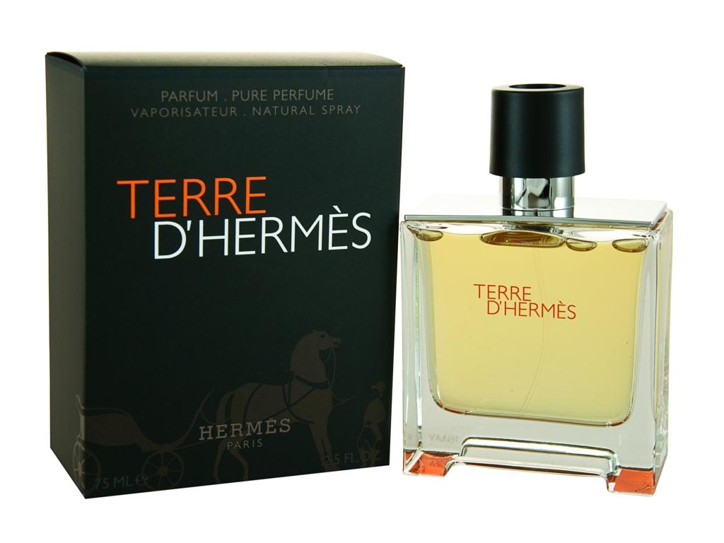 hermes terre d 39 hermes eau de parfum 75ml for him ebay. Black Bedroom Furniture Sets. Home Design Ideas