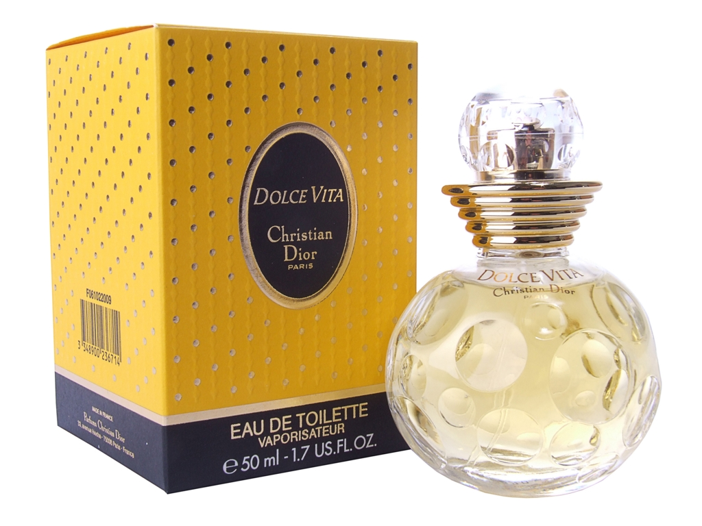 christian dior dolce vita eau de toilette 50ml for her ebay. Black Bedroom Furniture Sets. Home Design Ideas