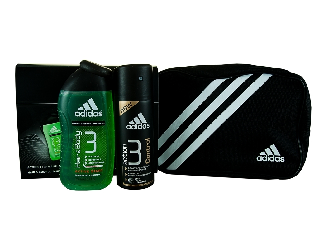 Adidas Action 3 Control Body Giift Set for Him Enlarged Preview
