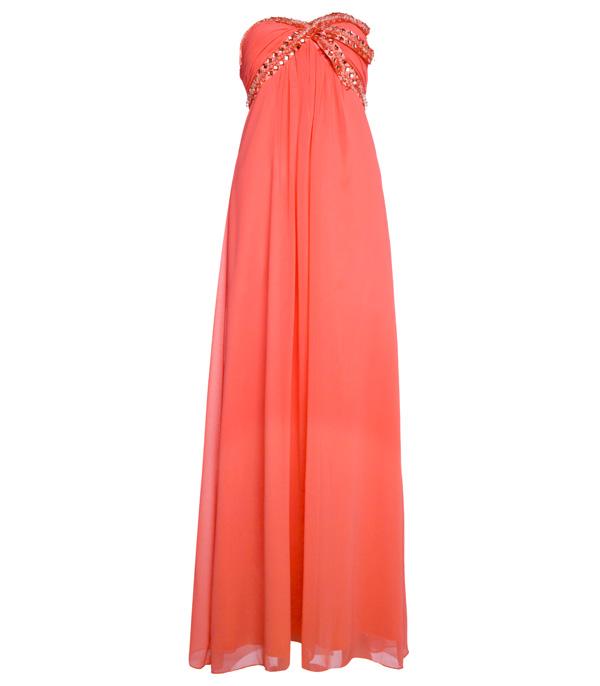 Coral Bridesmaid Dresses Uk Ebay 50