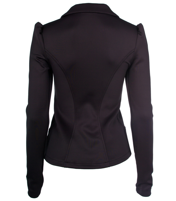 Fitted Blazer. For professional or casual wear, a fitted blazer is a sophisticated, chic choice of clothing. Flattering for men and women, it looks great with dress trousers or .