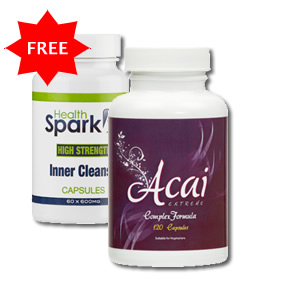 View Item Acai Extreme : High Strength Acai and FREE Colon Cleanse