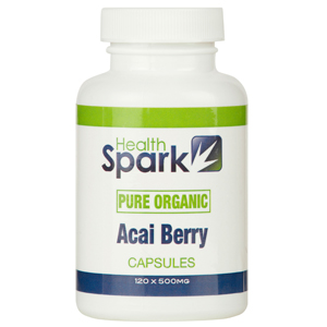 View Item Pure Acai Berry 400mg (2000mg per day) 150 Capsules