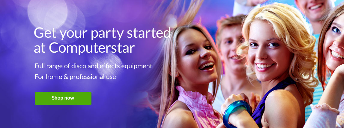 Get your party started at computerstar
