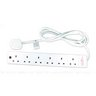 View Item 6 Way Surge Protector Mains Power Extension Lead 5M