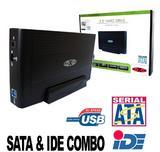 "Dynamode 3.5"" IDE Hard Drive Caddy USB External HDD Enclosure"