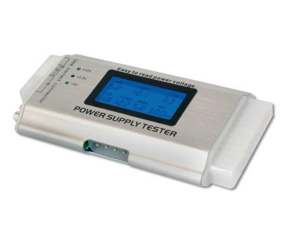 AXT POWER SUPPLY TESTER + LED