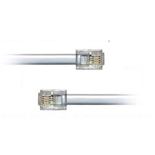 RJ11 Male BT Broadband Cable ADSL Modem Router Lead 10m Enlarged Preview