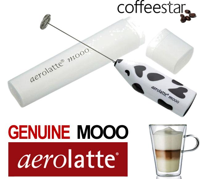 Genuine Aerolatte Mooo Milk Frother Ideal for making Nespresso Cappuccino Latte Enlarged Preview