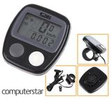 Waterproof LCD Digital Bike Cycling Cycle Bicycle Computer Odometer Speedometer UK