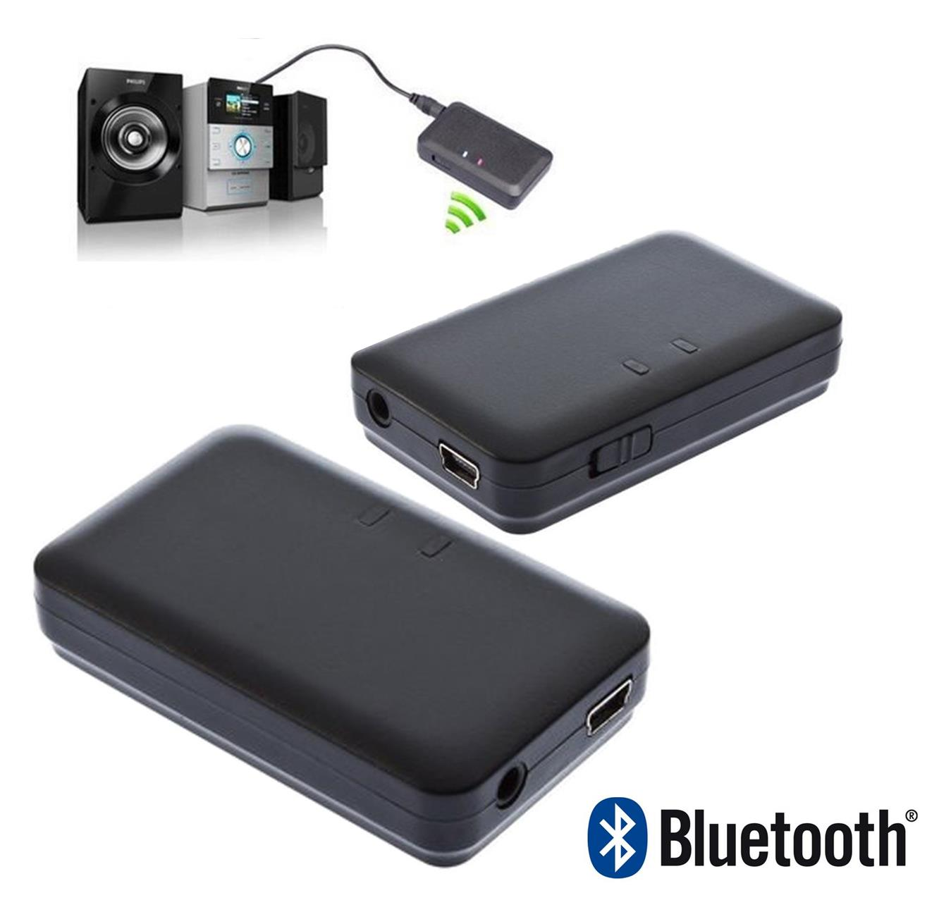 Wireless Bluetooth Music Receiver Stereo Audio Adapter HiFi TV MP3 DVD PC | eBay